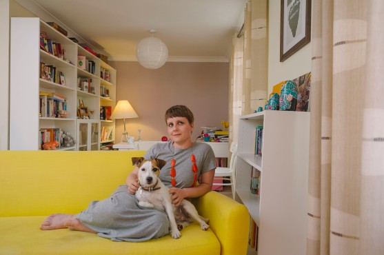 Picture By Jim Wileman - Katie Beswick, pictured at her home in Exeter, Devon.